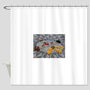 Imagine Strawberry Fields NYC Shower Curtain