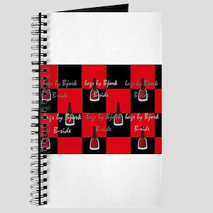 bucket bag nail polish red n black checkerboard Jo