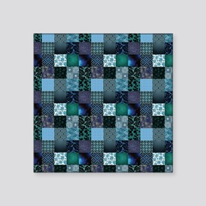 """COOL WATER Square Sticker 3"""" x 3"""""""