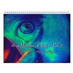 12 Months of Eyes Vol 2 Wall Calendar