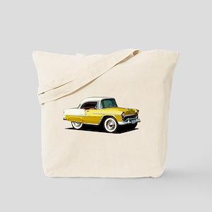 BabyAmericanMuscleCar_55BelR_Xmas_Yellow Tote Bag