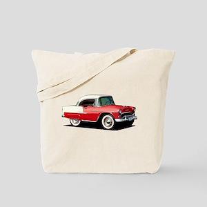 BabyAmericanMuscleCar_55BelR_Xmas_Red Tote Bag