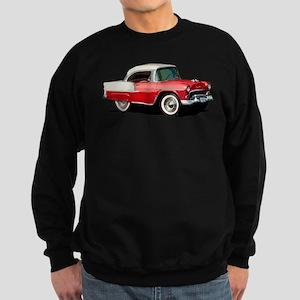 BabyAmericanMuscleCar_55BelR_Xmas_Red Sweatshirt