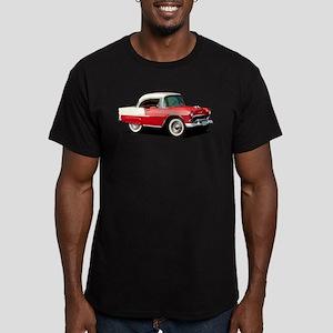 BabyAmericanMuscleCar_55BelR_Xmas_Red T-Shirt