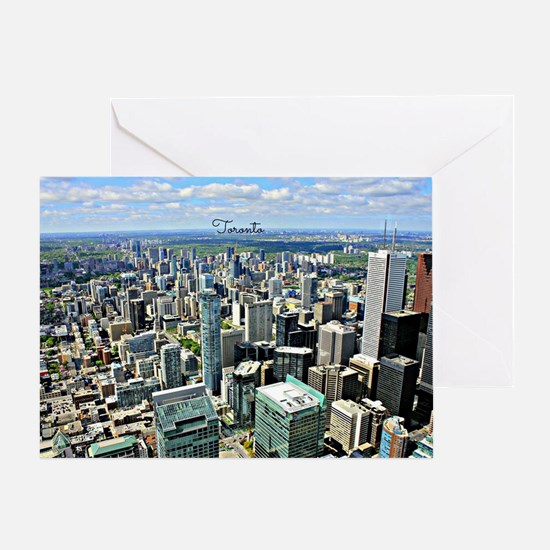 Toronto, Canada cityscape Greeting Card