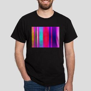 Stripes Art Red T-Shirt