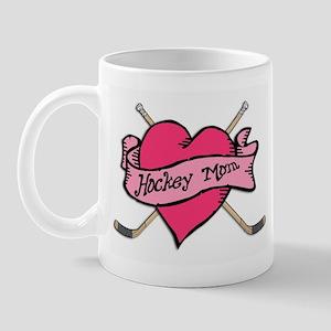 Hockey Valentine for Mom Mug