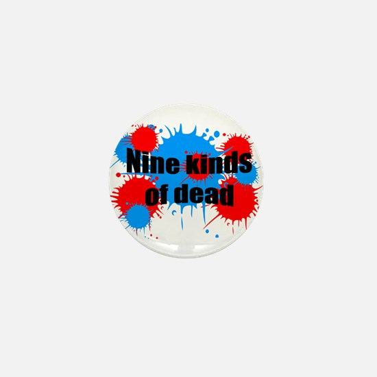 Unique Paint ball Mini Button