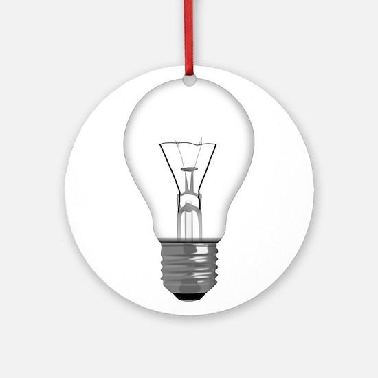 Light Bulb Ornament (Round)
