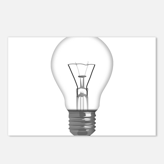 Light Bulb Postcards (Package of 8)