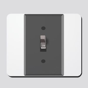 Light Switch On Mousepad