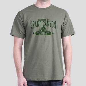 Grand Canyon Nat Park Tent Dark T-Shirt