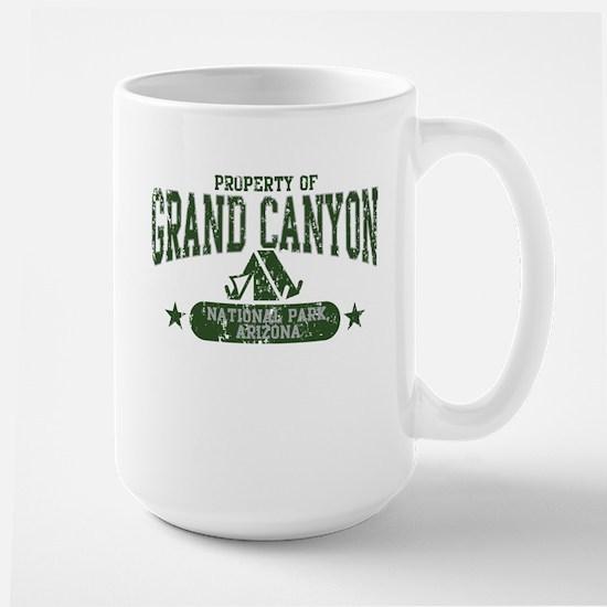Grand Canyon Nat Park Tent Large Mug