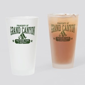Grand Canyon Nat Park Tent Drinking Glass
