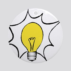 Light Bulb Ornament (Round)