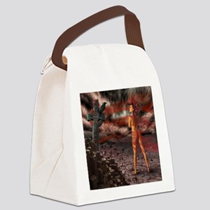 The Morrigan Canvas Lunch Bag