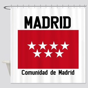Community of Madrid Shower Curtain
