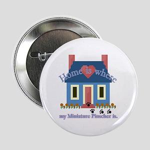 """Miniature Pinscher 2.25"""" Button (10 pack)"""
