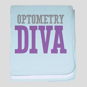 Optometry DIVA baby blanket