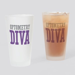 Optometry DIVA Drinking Glass