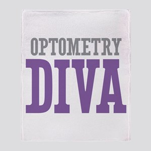Optometry DIVA Throw Blanket
