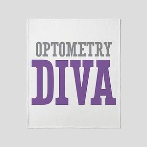 Optometry DIVA Throw Blanket