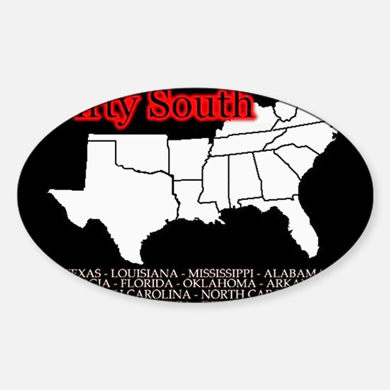 DIRTY SOUTH Oval Decal