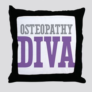 Osteopathy DIVA Throw Pillow
