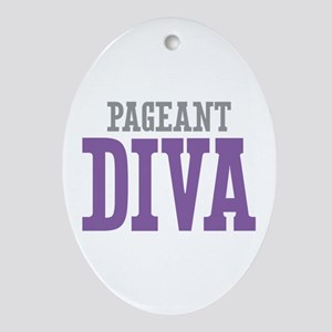 Pageant DIVA Ornament (Oval)