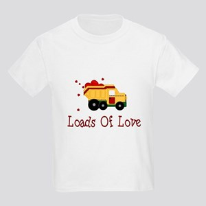 Dump Truck Kids Light T-Shirt