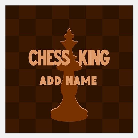 King of Chess 5.25 x 5.25 Flat Cards