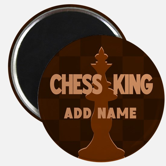 King of Chess Magnet