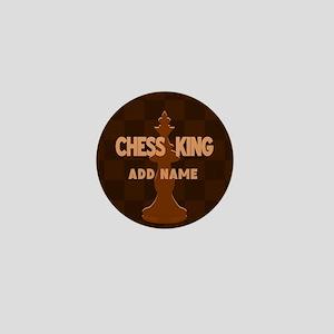 King of Chess Mini Button