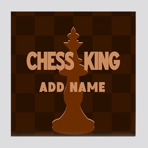King of Chess Tile Coaster