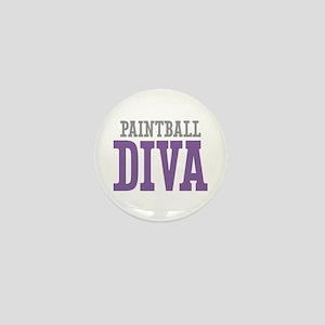 Paintball DIVA Mini Button