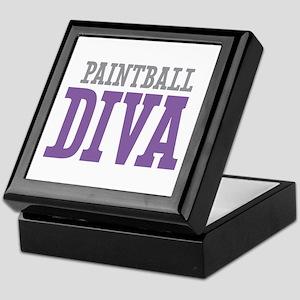Paintball DIVA Keepsake Box