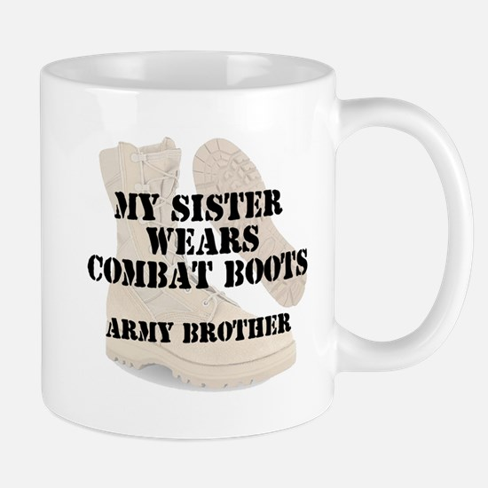 Army Brother Sister wears DCB Mugs