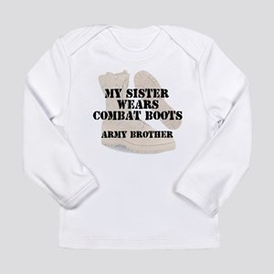 Army Brother Sister wears DCB Long Sleeve T-Shirt