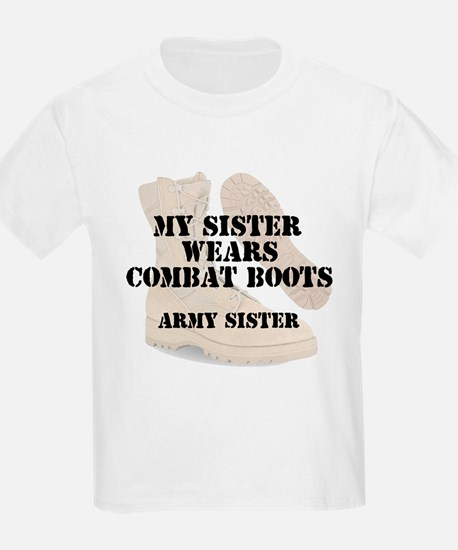 Army Sister wears DCB T-Shirt