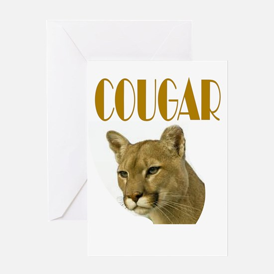 COUGAR Greeting Cards
