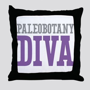Paleobotany DIVA Throw Pillow