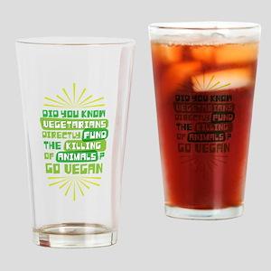 Vegetarians Animals Drinking Glass