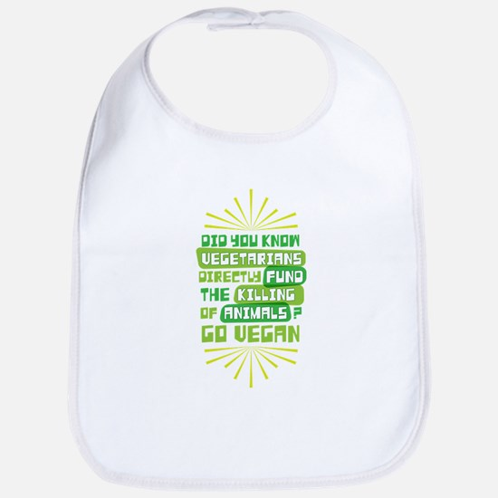 Vegetarians Animals Bib