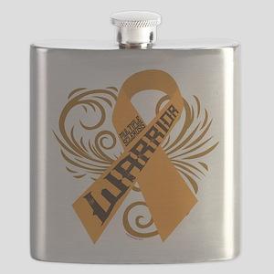 Multiple Sclerosis Warrior Flask
