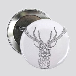 Christmas deer with abstract geometric pattern 2.2