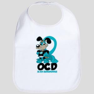 OCD Is My Superpower Bib