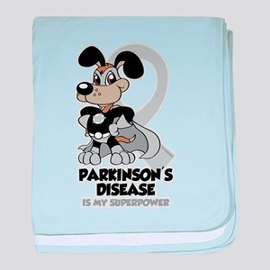 Parkinsons Is My Superpower baby blanket