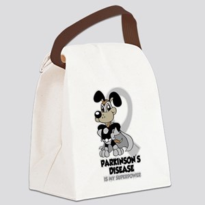 Parkinsons Is My Superpower Canvas Lunch Bag