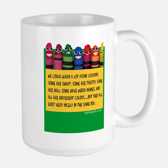 Peaceful Crayons Mugs