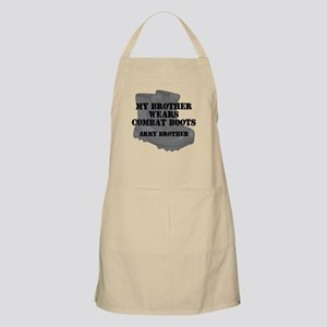 Army Brother Combat Boots Apron